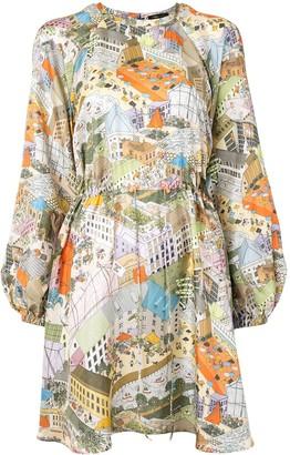 Stine Goya City print dress