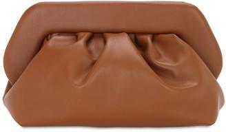Themoirè Bios Faux Leather Clutch