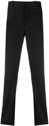 Neil Barrett Side Stripe Straight-Leg Trousers