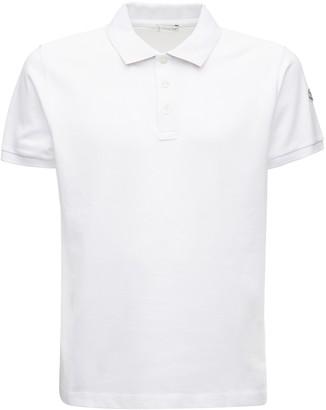 Moncler Cotton Polo Pique