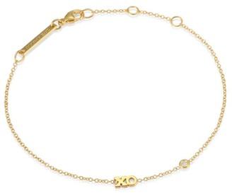 Zoë Chicco 14K Yellow Gold & Diamond XO Chain Bracelet