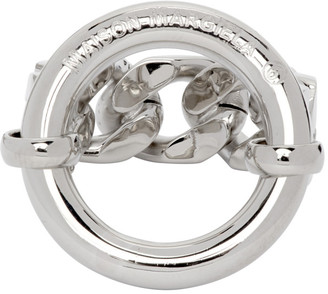 MM6 MAISON MARGIELA Silver Chain Ring