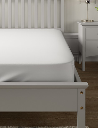 Marks and Spencer Washed Organic Cotton Fitted Sheet