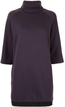 Emporio Armani turtle-neck sweater dress