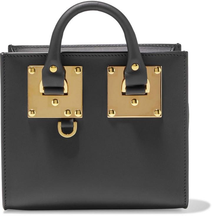 Sophie Hulme Albion Leather Shoulder Bag
