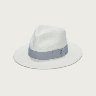 The White Company Christys' Panama Hat, Grey, One Size