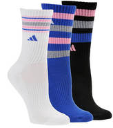 adidas Retro II 3-pack Crew Socks (women's)
