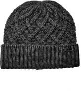 Michael Kors Cable Knit Hat Midnight