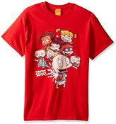 Nickelodeon Men's Rugrats Gang Bottle Squirt T-Shirt