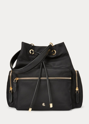 Ralph Lauren Nylon Debby Drawstring Bag