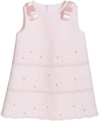Luli & Me Girl's Pique Sleeveless Dress, Size 6-24 Months