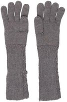 Burberry Cable Knit Wool Gloves