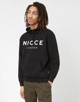 Nicce Logo Hoodie Black