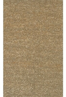 Gracie Oaks Fayean Brown/Tan Leather Area Rug Gracie Oaks Rug Size: Rectangle 2' x 3'