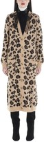 RED Valentino Animalier Bow Detail Cardigan