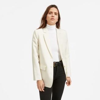 Everlane The Cotton-Linen Blazer