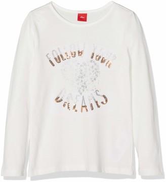 S'Oliver Girls' 58.809.31.8204 Longsleeve T-Shirt