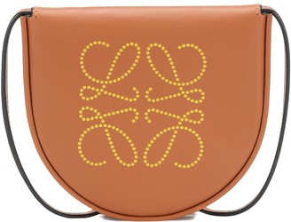 Loewe Heel Pouch Anagram leather crossbody bag