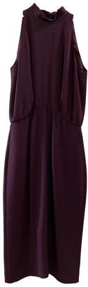 Tamara Mellon Purple Silk Dresses