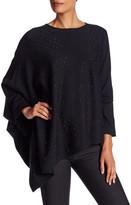Anne Klein One Shoulder Sequin Sweater