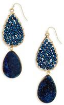 Panacea Women's Crystal Drop Earrings