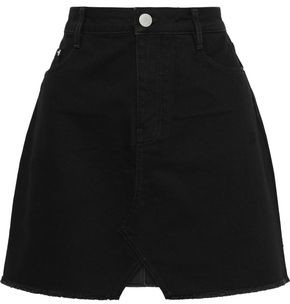 Maje Denim Mini Skirt