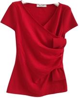 RED Valentino VALENTINO Red Wool Top