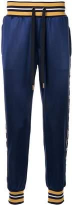 Dolce & Gabbana logo print trousers