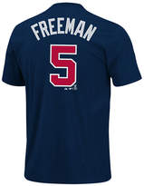 Majestic MajesticShort-Sleeve Freddie Freeman Atlanta Braves T-Shirt