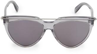 Alexander McQueen 58MM Geometric Sunglasses