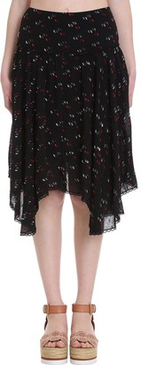 See by Chloe Skirt In Black Cotton