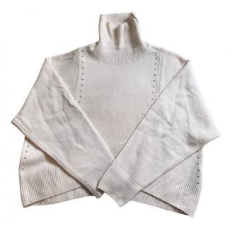 The Kooples Fall Winter 2019 White Cashmere Knitwear