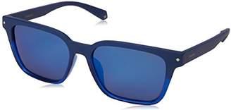 Polaroid Sunglasses Unisex-Adult Pld6044fs Polarized Rectangular Sunglasses