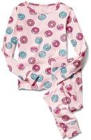 Gap Print cotton sleep set