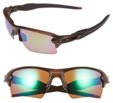 Oakley Men's Flak 2.0 Xl 59Mm Polarized Sunglasses - Brown