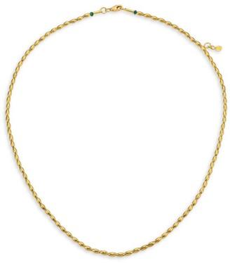 Gurhan 22K & 24K Yellow Gold Wheat Bead Necklace