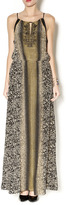 Greylin Beaded Gold Maxi