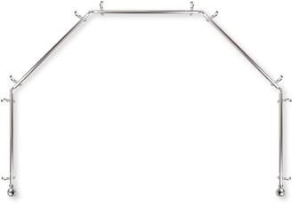 Rod Desyne Arman 5 Sided Bay Window Curtain Rod - 28''-48''