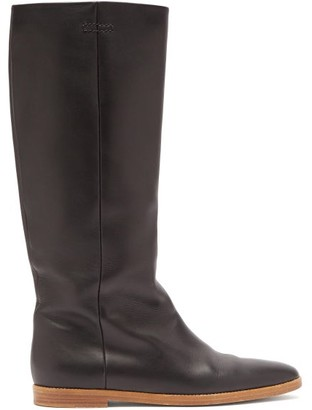 Gabriela Hearst Skye Knee-high Leather Boots - Black