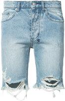 Ksubi distressed denim shorts - men - Cotton - 36