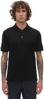Alexander McQueen Cotton Polo W/ Skull Patch