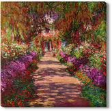 Asstd National Brand Monet's Garden Canvas Wall Art