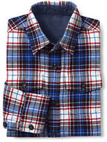 Classic Toddler Boys Flannel Shirt-Vibrant Blue/Navy Plaid