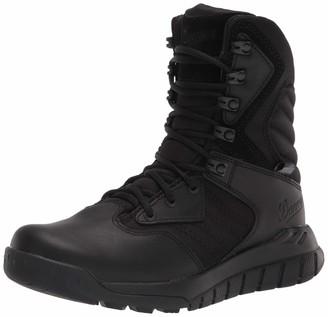 "Danner Instinct Tactical Side-Zip 8"" Black Dry Tactical Boot 13 M US"