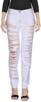 Philipp Plein Denim pants - Item 42610296