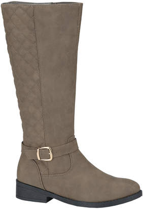Weeboo Women's Casual boots TAUPE - Taupe Fiorina Quilted Boot - Women