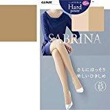 Sabrina Gunze Hard Power Stocking Size L - LL - 027 Bamon Brown