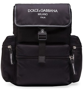 Dolce & Gabbana Kid's Zaino Nylon Backpack