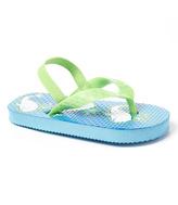 Lime & Blue Whale Flip-Flop
