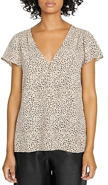Sanctuary Now And Forever Leopard Print Top
